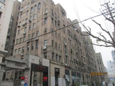 上海英租界の福州路・5次歴史建築