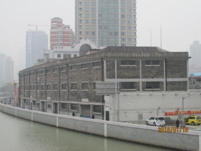 上海英租界の南蘇州路・5次歴史建築
