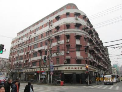 上海英租界の江西中路・5次歴史建築