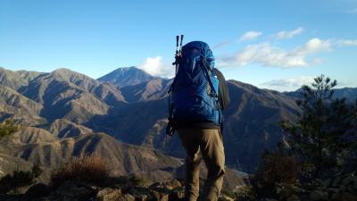 備前楯山から地蔵岳へ