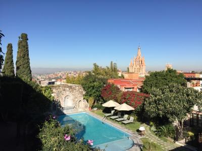 大司教邸宅を改装したカサ・デ・シエラ・ネバダに泊まる★芸術の街サン・ミゲル・デ・アジェンデ