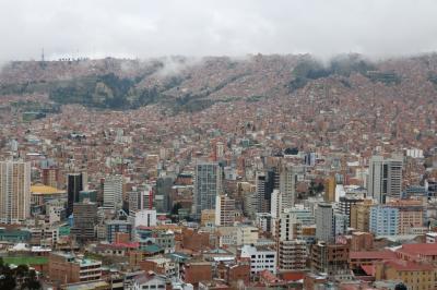 「雨季のボリビアの大自然を探訪」 その①  ボリビア入国・ラパス市内散策編