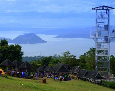フィリピン2 (タール火山とタール湖)