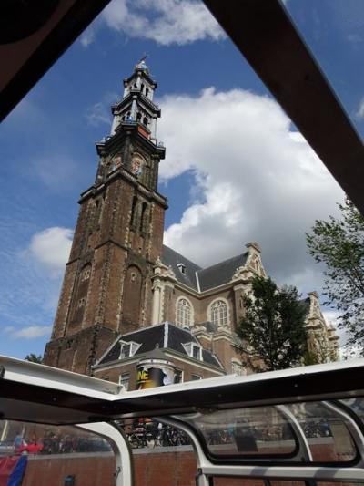 ベネルクス女4人旅③《アムステルダム2日目~運河めぐりと街歩き》