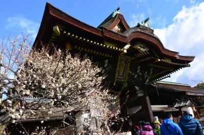 2016年2月 一人ぶらり京都♪ ~「北野天満宮」で春を奏で~「上七軒」で古都の魅力を味わい~「天喜」で天ぷらランチ~