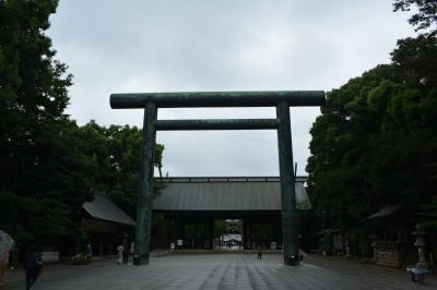 東京一人旅~気がつけば歴史墓巡り~