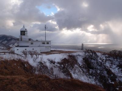真冬の竜飛岬へ…