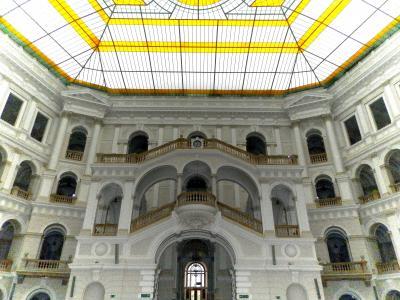 旅の神様に会える!ポーランド 11日目「夢の終点ワルシャワ『ワルシャワ工科大学のメインホール』」(2015年7/11)