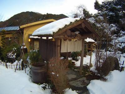 雪景色の都幾川温泉 旅館とき川に行ってきました!