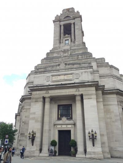 イギリス:UK2014-London(ロンドン)~ドイツでの結婚式からハネムーンイギリスへ④-2 ロンドン(フリーメイソングランドロッジ)~