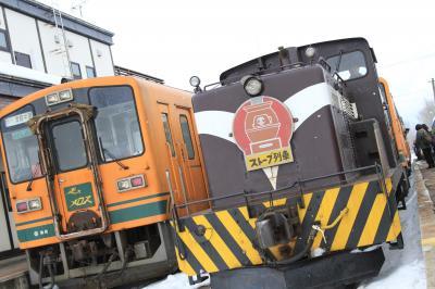 2016年 今年 最初の 電車の旅  「初・ 雪の青森」編