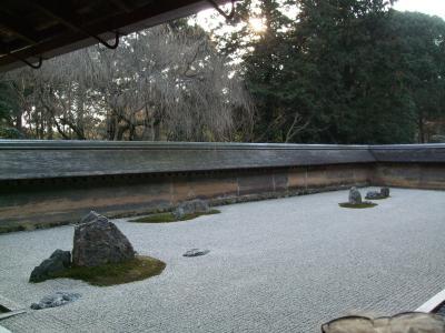 2008年 京都 ずっと行きたかった石庭で有名な龍安寺と金閣寺