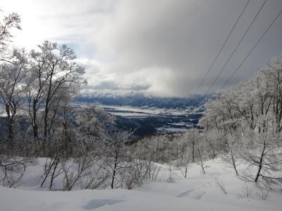 February 2016 野沢温泉でスキー三昧