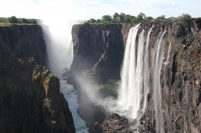 南部アフリカの旅(6)~ビクトリアの滝 ザンビア側~