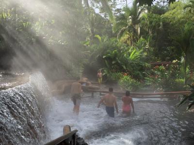 ANAビジネスクラスで行く コスタリカ温泉リゾートとエコツアーの旅(出発、タバコン温泉&ナヤラスプリングス編)