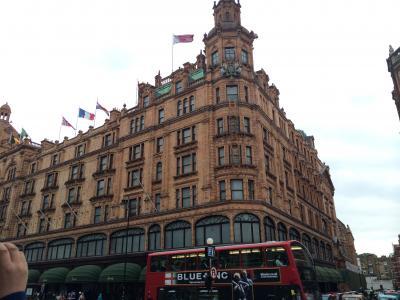 イギリス:UK2014-London(ロンドン)~ドイツでの結婚式からハネムーンイギリスへ④-5 ロンドン(ショッピングとフィッシュアンドチップス)~
