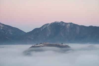 2016年02月 天空の城(竹田城)を見に行ってきました。