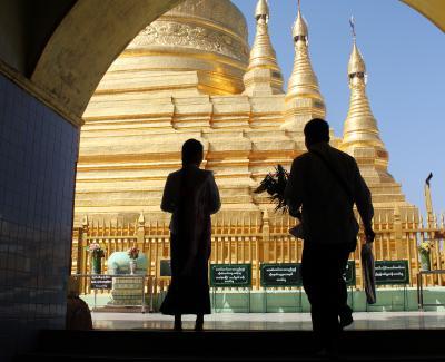 優柔不断・ミャンマーの旅