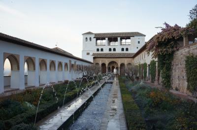 スペイン旅行記⑦ グラナダ・ヘネラリーフェ庭園