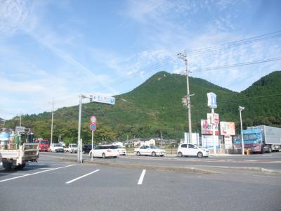 近江富士・三上山に登る