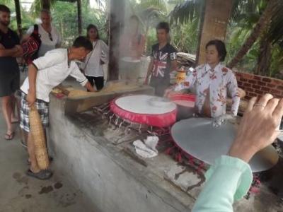 ライスペーパーと米麺の製作所