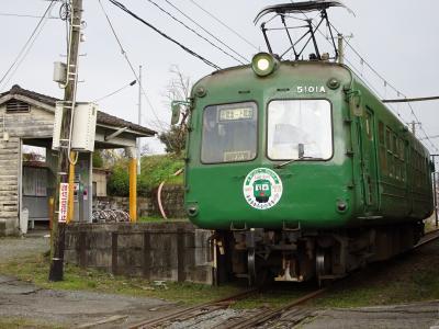 さよなら青ガエル(熊本電鉄5000系ラストラン)