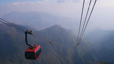 サパ インドシナ半島最高峰ファンシーパン ロープウェイ搭乗記