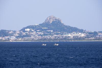 沖縄旅行ー2 伊江島 城山登山です(′▽`o)ファイトォ~♪その後は、シーサーがいっぱいのお休み処でまったりしました(*^▽^*)