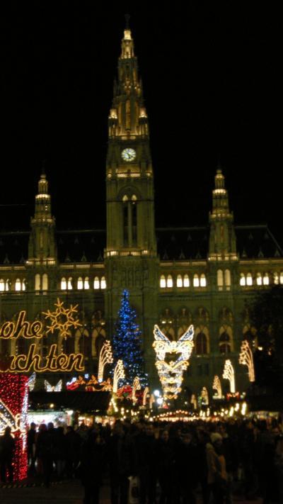2015年冬のインスブルック、ウィーンへ(20)ウィーンのクリスマスマーケット総集編