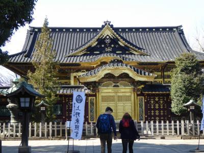 真冬の「冬牡丹」と上野公園の社寺♪ Vol4 上野東照宮の雅な動物たち♪