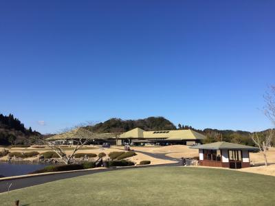 冬場の三連荘ゴルフ…チョット疲れました!