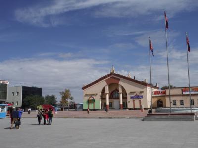 北京~ウランバートル自転車旅その9-中国・モンゴル国境越えザーミンウードへ