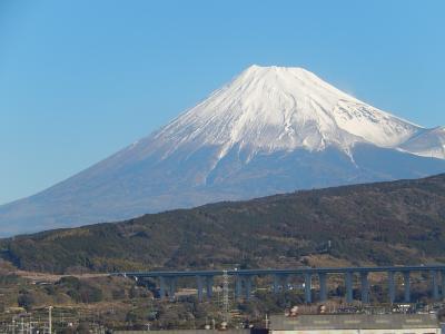 久しぶりに新幹線から富士山を撮影する