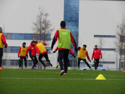 2016冬ドイツ(2)アウクスブルクでサッカー練習見学