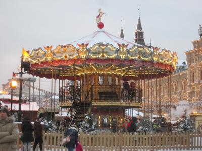 ロシア 「行った所・見た所」 モスクワ(赤の広場・グム百貨店)