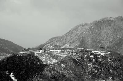 冬季閉鎖の但馬・竹田城ですが・・・。