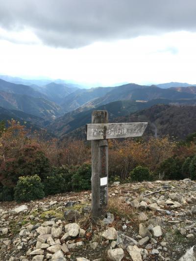 護摩壇山~龍神岳(和歌山県最高峰)にちょこっと山登り