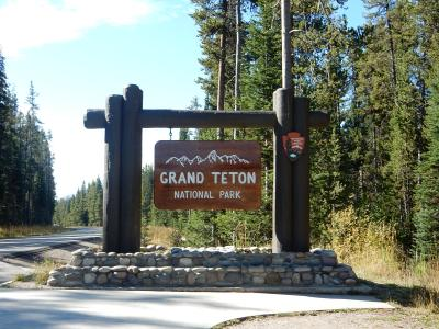 2015 レンタカーで周るイエローストーン・グランドティートン国立公園 6日目 マンモスからグランドティートン