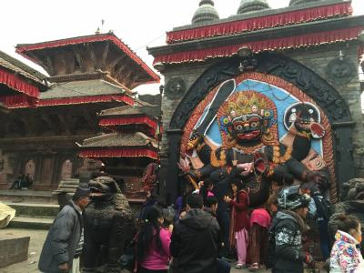 ネパール里山めぐり(4) カトマンドゥ、バクタブル