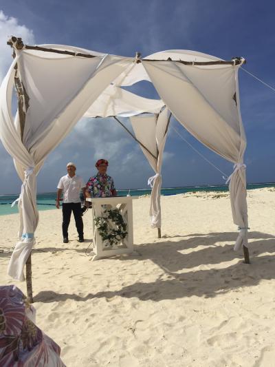 2016サイパン 結婚式参列inマニャガハ島