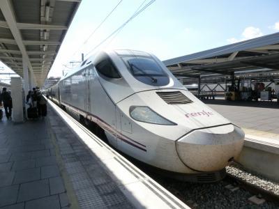 2015年10月 凱旋門賞とポルトガル、スペイン鉄道の旅 (11) バレンシア後半 ユーロメット乗り鉄編