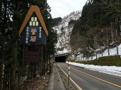 (富山旅行2日目)五箇山・白川郷など