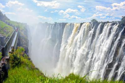 南部アフリカ一人旅【3】ビクトリアの滝(ザンビア側)