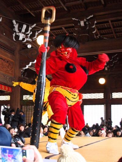 2016 「 本成寺鬼踊り 」 & 「 雪しか祭り 」 の旅 < 新潟県三条市・長岡市 >