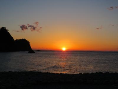 堂ヶ島温泉郷への旅②夕陽を見る