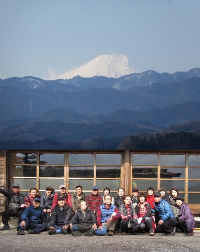 ハイキング倶楽部 第26回 日和田山・啓明荘で餅つき Hiking to Hiwadasan・Keimeisou