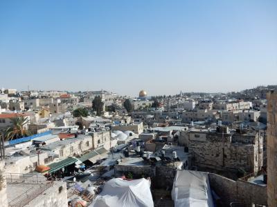 ヨルダン・イスラエル年末年始2015−2016旅行記 【6】エルサレム4(城塞巡り他)
