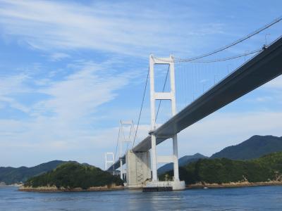 再びダイヤモンド・プリンセス号で夏休み その4 瀬戸内海クルーズ 瀬戸大橋 しまなみ海道