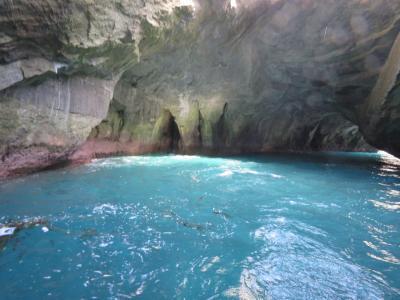 堂ヶ島温泉郷への旅④遊覧船で伊豆の「松島」めぐり