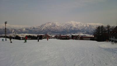 新幹線でスキー・スノボ ~ とはいえ目的は温泉(?)